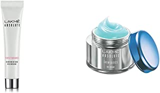 Lakmé Absolute Perfect Radiance Skin Lightening Day Creme 15 g & Lakmé Absolute Skin Gloss Gel Creme, 15g