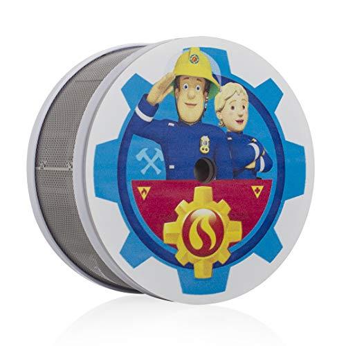 Smartwares FSM-16401 FSM-164 SAM & PENNY Mini Rauchwarnmelder/ Feuerwehrmann Sam/ Rauchmelder für das Kinderzimmer/ 10 jahres melder/ Maße nur 75 x 35 mm/VDS und Q-zertifiziert