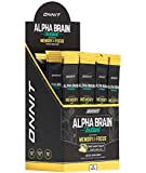 ONNIT Alpha Brain Instant - Pineapple Punch Flavor - Nootropic Brain Booster Memory Supplement - Brain Support for Focus, Energy & Clarity - Alpha GPC Choline, Cats Claw, L-Theanine, Bacopa - 30ct