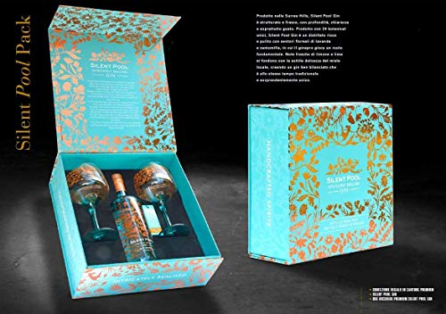 GIN INTRICATELY REALISIERED 70 CL SPECIAL PACK 2 BICCHIERI