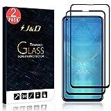 J&D Compatible pour 2-Pack Protection écran Huawei Honor View 20, [Non Couverture Complète] [sans...