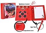 Bandai - Miraculous Ladybug - Journal intime interactif - parle français - role play - 82958