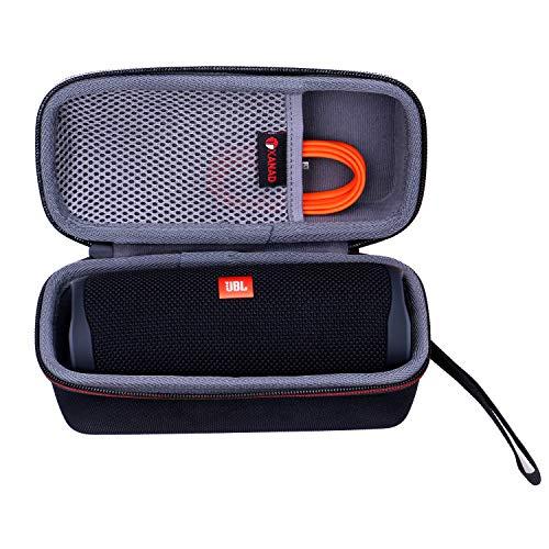 XANAD Dur Étui de Voyage Porter Housse pour JBL Flip 5 Enceinte Bluetooth Portable Robuste - EVA protectrice Cas