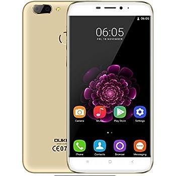 OUKITEL U20 Plus - Pantalla IPS de 5.5 Pulgadas 1.5GHz Quad Core 13MP cámara de Lente Dual 2GB RAM 16GB Android 6.0 4G Smartphone Fingerprint Sensor 3300mAh Batería: Amazon.es: Electrónica