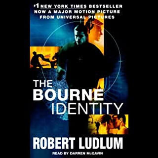 The Bourne Identity audiobook cover art