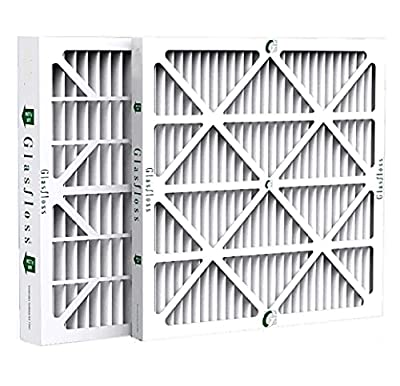 Glasfloss ZL16x25x4 MERV 10 AC & Furnace Filters. 6 Pack. Actual Size: 15-1/2 x 24-1/2 x 3-3/4
