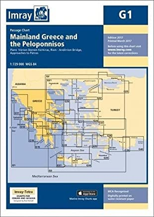 Imray Chart G1: Mainland Greece and the Peloponnisos