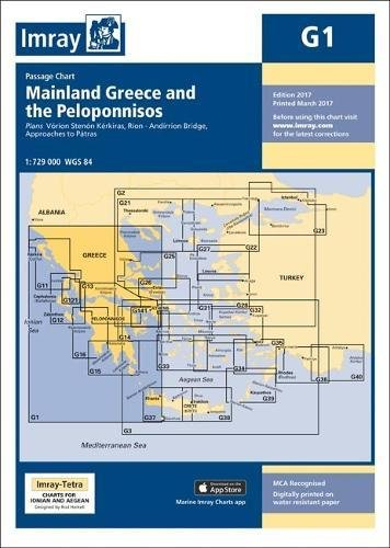 Image OfImray Chart G1: Mainland Greece And The Peloponnisos