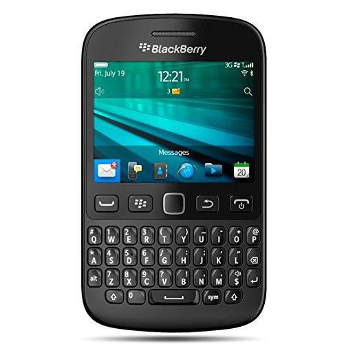 BlackBerry 9720 QWERTY Smartphone (7,1 cm (2,8 Zoll) Bildschirm, 5 Megapixel EDOF Kamera) schwarz
