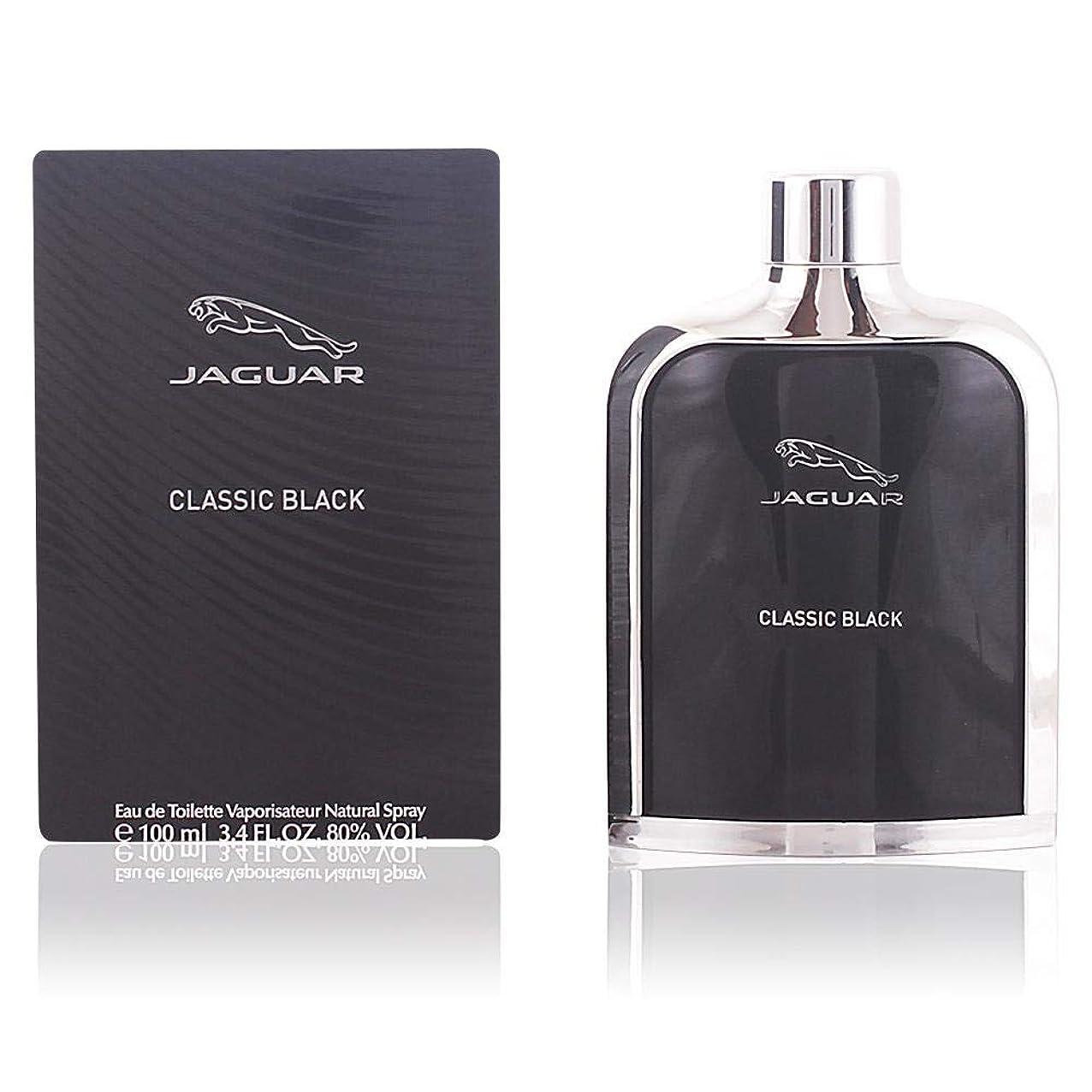 大通り眼不可能なジャガー クラシック ブラック オードトワレ 100ml JAGUAR CLASSIC BLACK