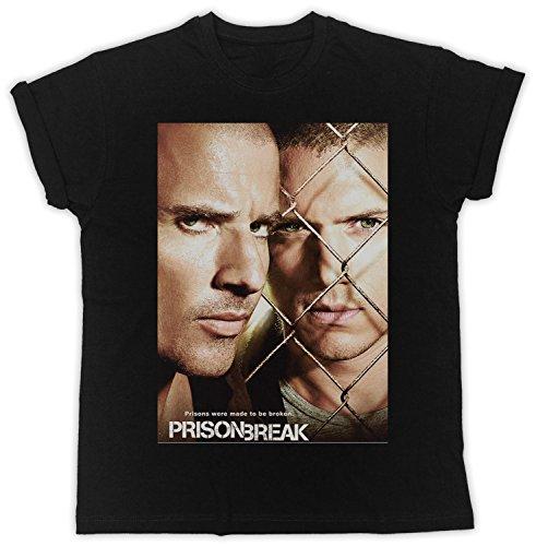 Uk print king Prison Break Prisons were Made to Be Broken Poster Cooler Spruch, Slogan, lustiges Design, Geschenkidee