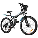 ANCHEER 26' Electric Bikes for Adult, 26 inch...