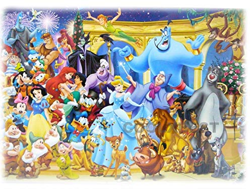 TURANI Jigsaw Puzzle 500 Pieces Classic Cartoon Character Collection Puzzle Series Jigsaw Puzzle Game for Adult Kids Teens Family Great Gift