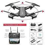 Droni con videocamera Live Video GPS HJ100 720P 1080P 4k Drone HD WIFI FPV Drone volante, dji Drone,...