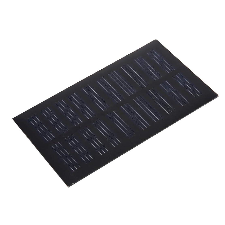 あらゆる種類の入射憎しみポータブル折りたたみソーラーパネル 5V 0.7W 140mAh DIY太陽電池モジュールソーラーパネルモジュール電池、サイズ:107 x 61mm マウサー日本
