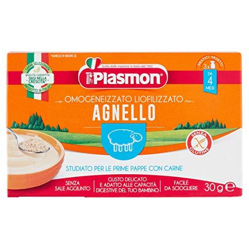 Plasmon Omogeneizzato Liofilizzato Agnello 3x10g