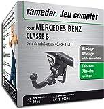 Rameder Attelage rotule démontable pour Mercedes-Benz Classe B + Faisceau 7 Broches (149738-05396-1-FR)