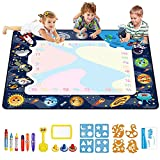 Water Doodle Mat Drawing Mat for Kids Toddler Educational Pad Water Drawing Doodling MatColoring Painting Writing Board ToyWriting Board Toy