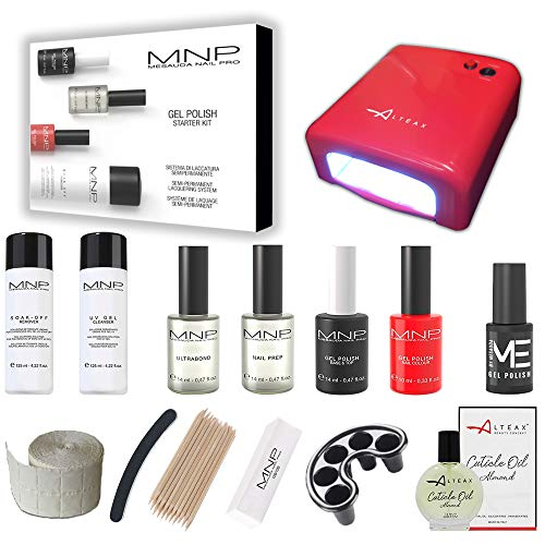 MESAUDA STARTER KIT GEL POLISH 14 ML SMALTO SEMIPERMANENTE UNGHIE +...