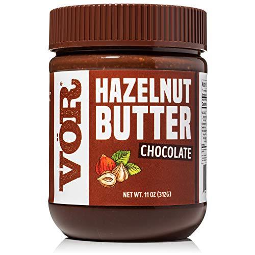 Vör Premium Pure Chocolate Hazelnut Spread | Only Hazelnuts & Chocolate | No Palm Oil | 11 Ounce Jar