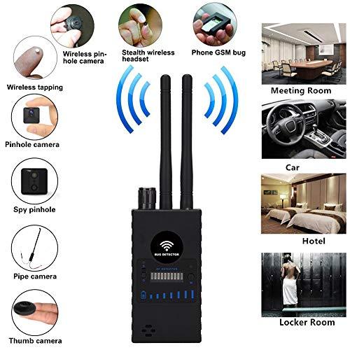 JSX Multi-Funktions-Anti-Detektor Kamera, GSM Audio-Bug-Finder GPS-Signal Objektiv RF Tracker Detect