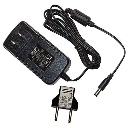 HQRP Netzadapter/Netzteil für Yamaha NP-31, NP-11 Piaggero; NP-30, EZ-220, EZ-200, YPT-210, YPT-220 Portable Grand Pianos Digital Keyboard Erzatzteil
