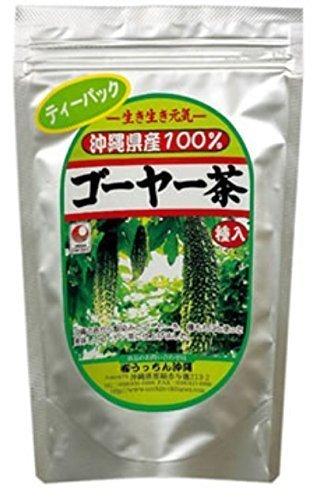 うっちん沖縄 種入りゴーヤー茶 (1.5g×30包入) 2袋