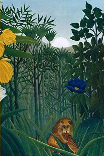 Journal: Repast of the Lion by Henri Rousseau (Henri Rousseau The Repast Of The Lion)