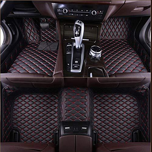 Car Floor Mats For For VOLKSWAGEN For VW Passat Polo Golf Tiguan Jetta Touran Touareg Bora Sagitar Magotan Teramont Custom Styling 3D (Color Name : Beige (full set))