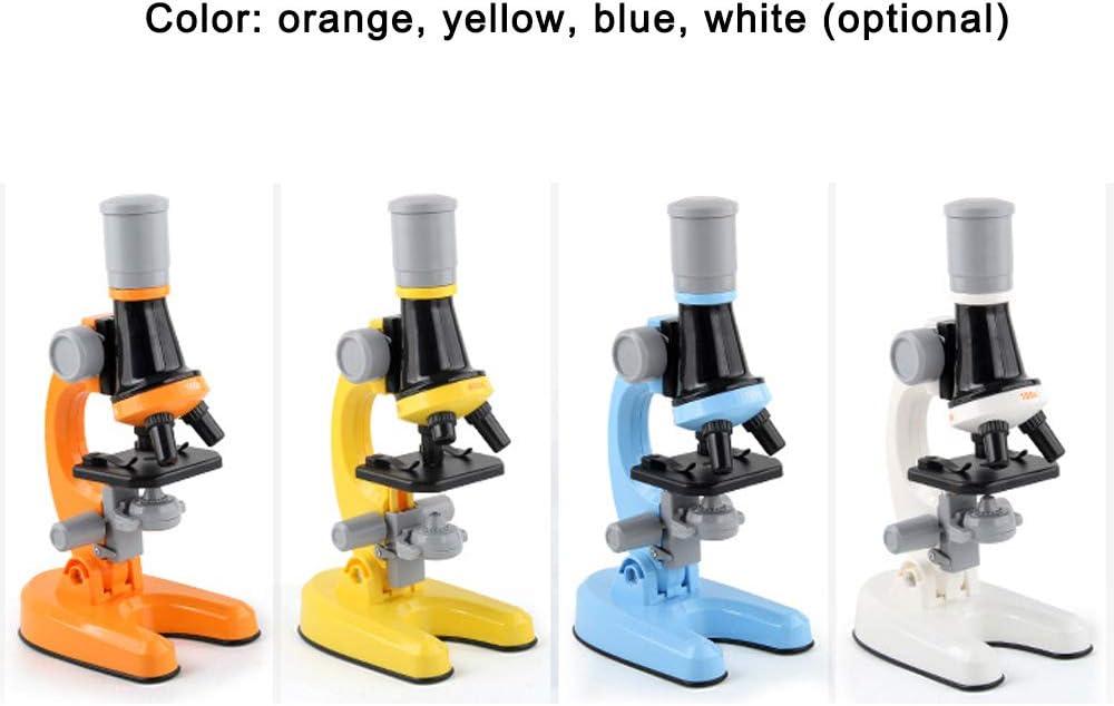 1200X Anf/änger Jugendliche Studenten Wissenschaftliches Mikroskop mit Science Kit-tolles Weihnachtsgeschenke f/ür Kinder 400X Mikroskop f/ür Kinder KKmoon 100X