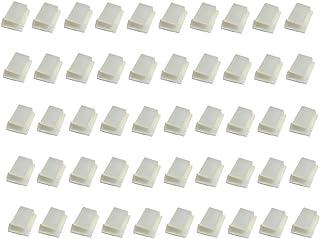 monofive 配線固定用 粘着式ホルダー50個 (各種フラットケーブル対応) MF-HFLC2-50W