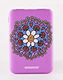 ROCIO PERALTA Mr Wonderful Batterie Externe Portable 10 000 mAh Violet et Orange