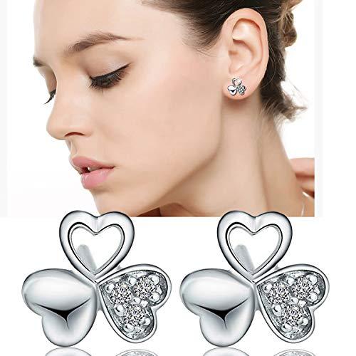 ZOZJI Hypoallergenic Cubic Zirconia Stud Earrings $6 (75% Off)