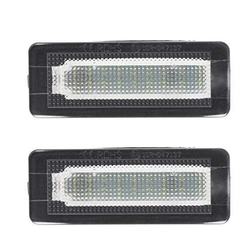 Xuniu Auto Kennzeichenbeleuchtung Lampe Für Benz Smart Fortwo Coupe Cabrio 450 451 W450 W453