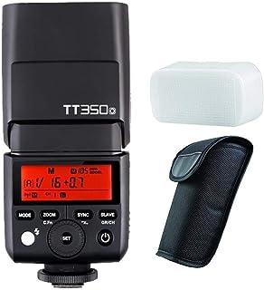 GODOX TT350/O TTL Miniカメラフラッシュ ガイドナンバー36 内蔵2.4G TTLオートフラッシュ Olympus/Panasonicカメラ対応