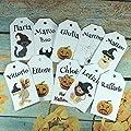 10 cartellini tag bigliettini personalizzati Halloween con…