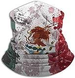 SfeatrutMAT Bandanas para el cuello, lavables y ajustables, cálidas, transpirables, reutilizables, para hombres y mujeres, fabricadas en Estados Unidos, color negro