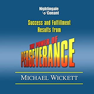 The Power of Perseverance audiobook cover art