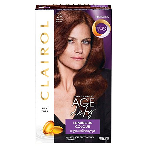 Clairol Age Defy Permanent Hair Dye 5R Medium Auburn