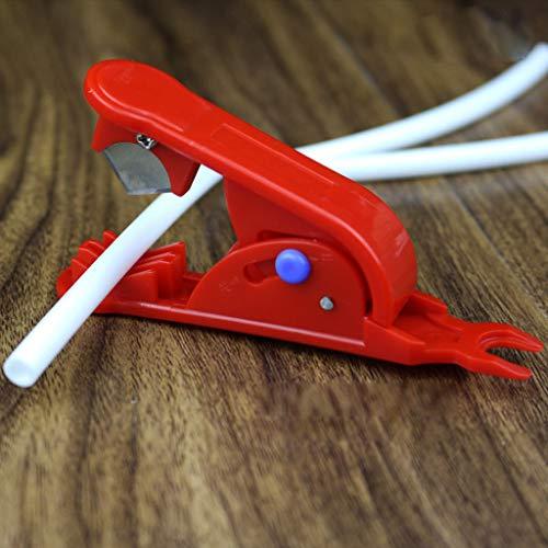 HOTPINK1 Tuyau flexible en polyéthylène blanc de 6,35 mm, pour filtre à eau RO pour système de revers.