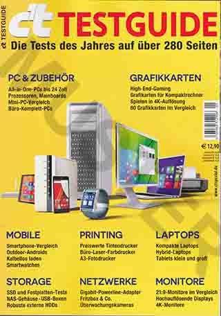 C`t - Testguide - Die Tests Des Jahres Auf Über 280 Seiten - PC & Zubehör. All-In-One-PC bis 24 Zoll Prozessoren