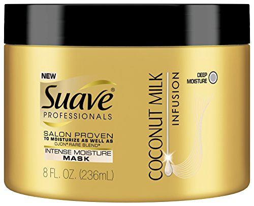 Suave Professionals Instense Moisture Mask, Coconut Milk Infusion, 8 Ounce
