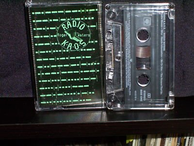ROGER WATERS. RADIO KAOS. ORIGINAL 1987 EMI CASSETTE TAPE ALBUM. TC KAOS 1.