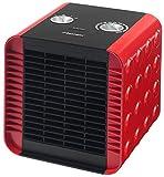 Bestron Radiateur soufflant, Thermostat, Contrôle de la température, 750 W/ 1500 W, Rouge