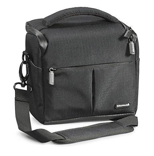 Cullmann 90300Malaga Vario 400Kamera Tasche mit Tragegurt–Schwarz
