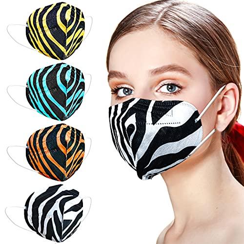 AHOTOP FFP2 Maske CE Zertifiziert, 20 Stück FFP2 Maske Bunt, FFP2 Maske Farbig, Bunte FFP2 Masken Mundschutz, FFP2 Blau, FFP2 Schwarz, FFP2 Orange, FFP2 Gelb