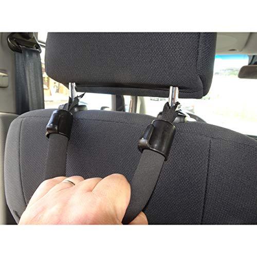 1a-becker KFZ Einstiegshilfe Ausstiegshilfe Haltegriff f. Senioren Auto Griff Kopfstütze