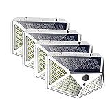 Luces solares para jardín 1 / 4PCS 100 LED Luz solar Lámpara...