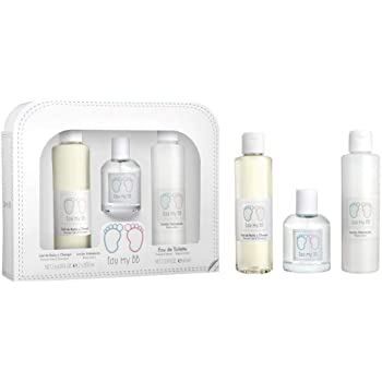 EAU MY BB pack gel de baño y champú 200 ml + locion hidratante 200 ml + colonia spray 60ml: Amazon.es: Belleza