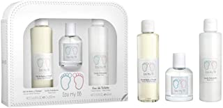 EAU MY BB pack gel de baño y champú 200 ml + locion hidratante 200 ml + colonia spray 60ml